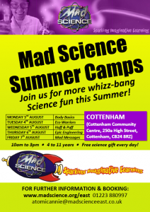 Mad Science - Cottenham