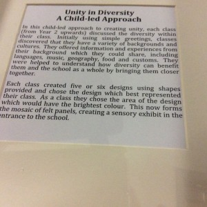 Cottenham Primary School Unity in Diversity 2