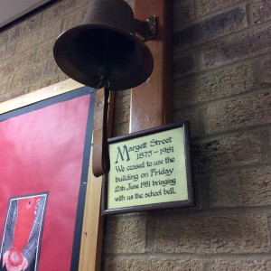 Cottenham Primary School - old school bell