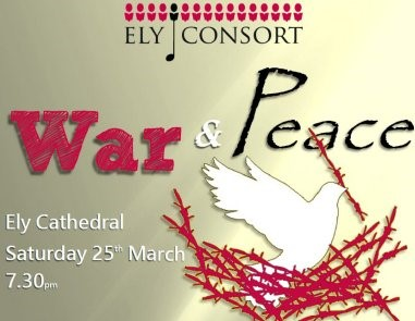 War & Peace Ely Consort Ely Cathedral