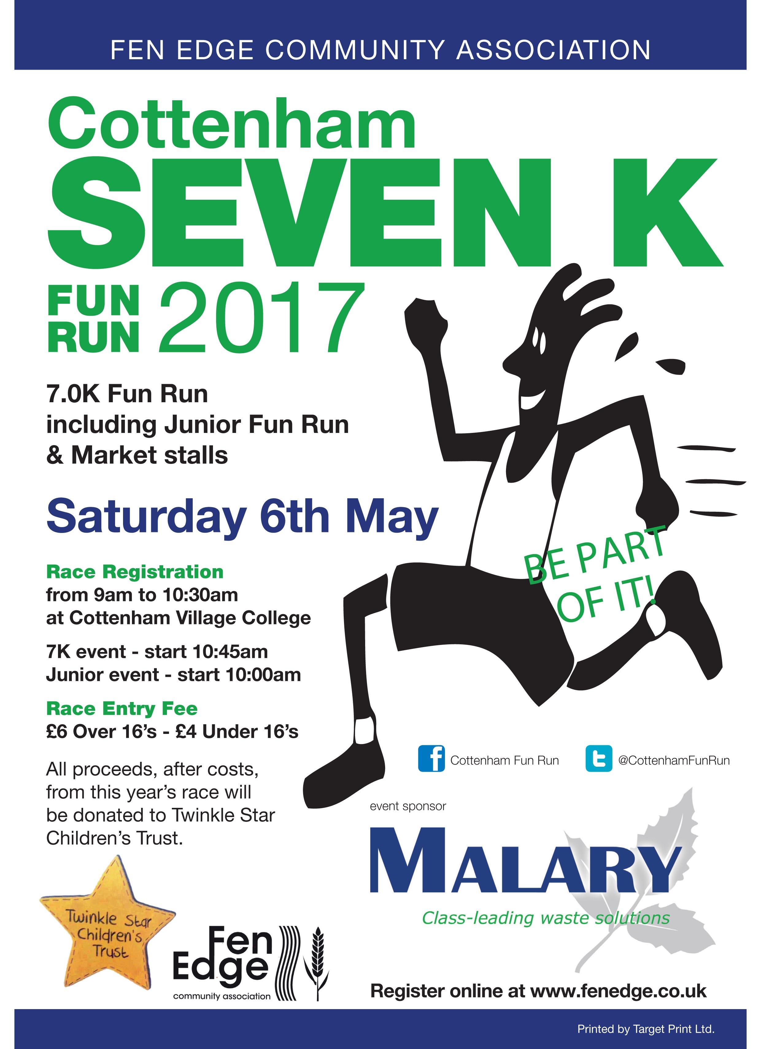Cottenham Fun Run 2017