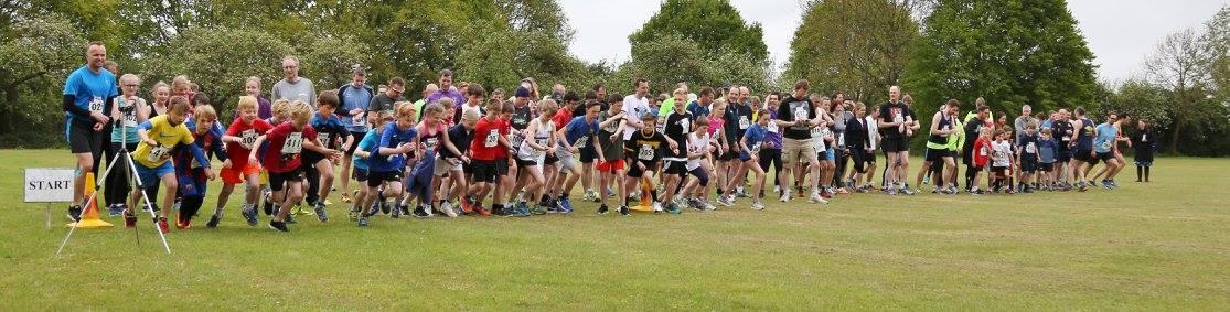 Cottenham Fun Run 2017 - The Start