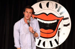 Paddy Lennox Custard Comedy at the Fen Edge Festival