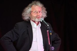 Rob Coleman Custard Comedy at the Fen Edge Festival