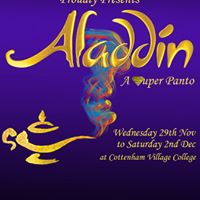 Cottenham Theatre Workshop Aladdin