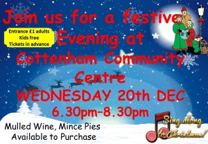 Festive Evening at Cottenham Community Centre