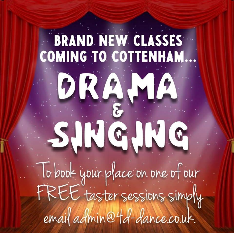 Drama and Singing Cottenham Community Centre