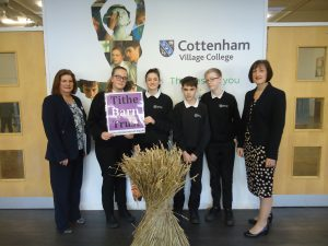 Cottenham Village College supports Landbeach Tithe Barn