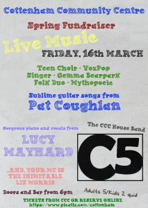 Cottenham Community Centre Spring Fundraiser