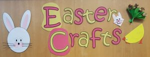 Cottenham Library Easter Crafts