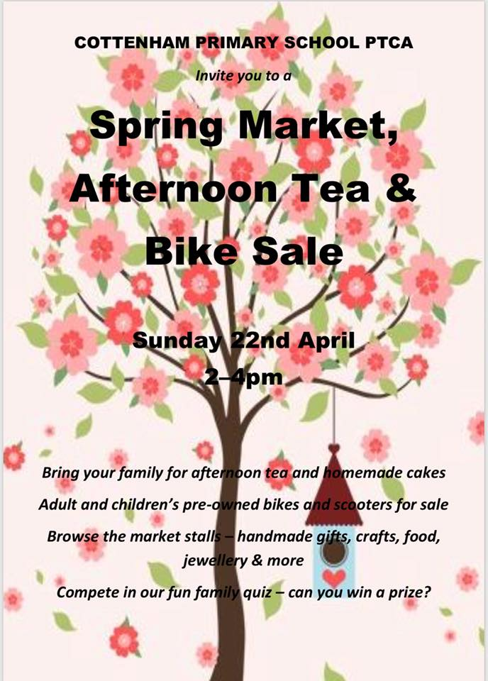 Cottenham Primary School PTCA Spring Market