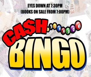 Willingham Social Club Bingo