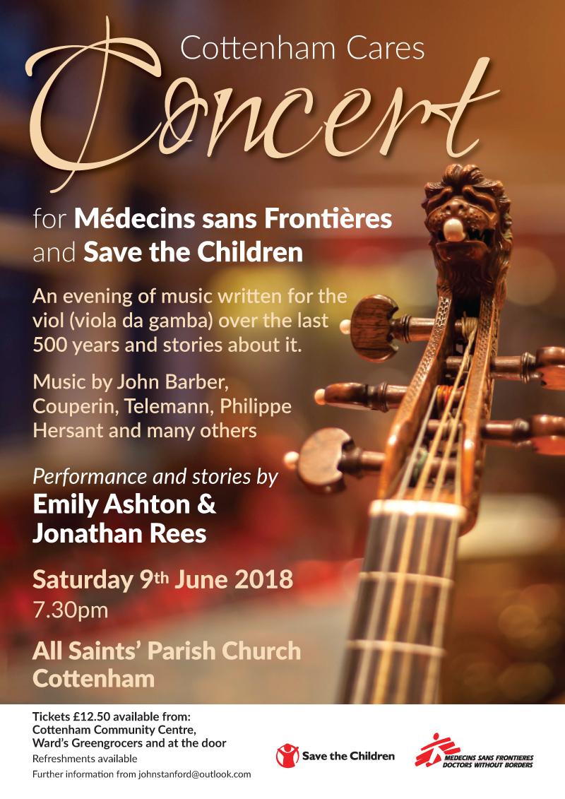 Cottenham Cares Concert June 2018