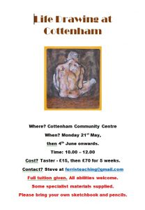 Cottenham Community Centre Life Drawing