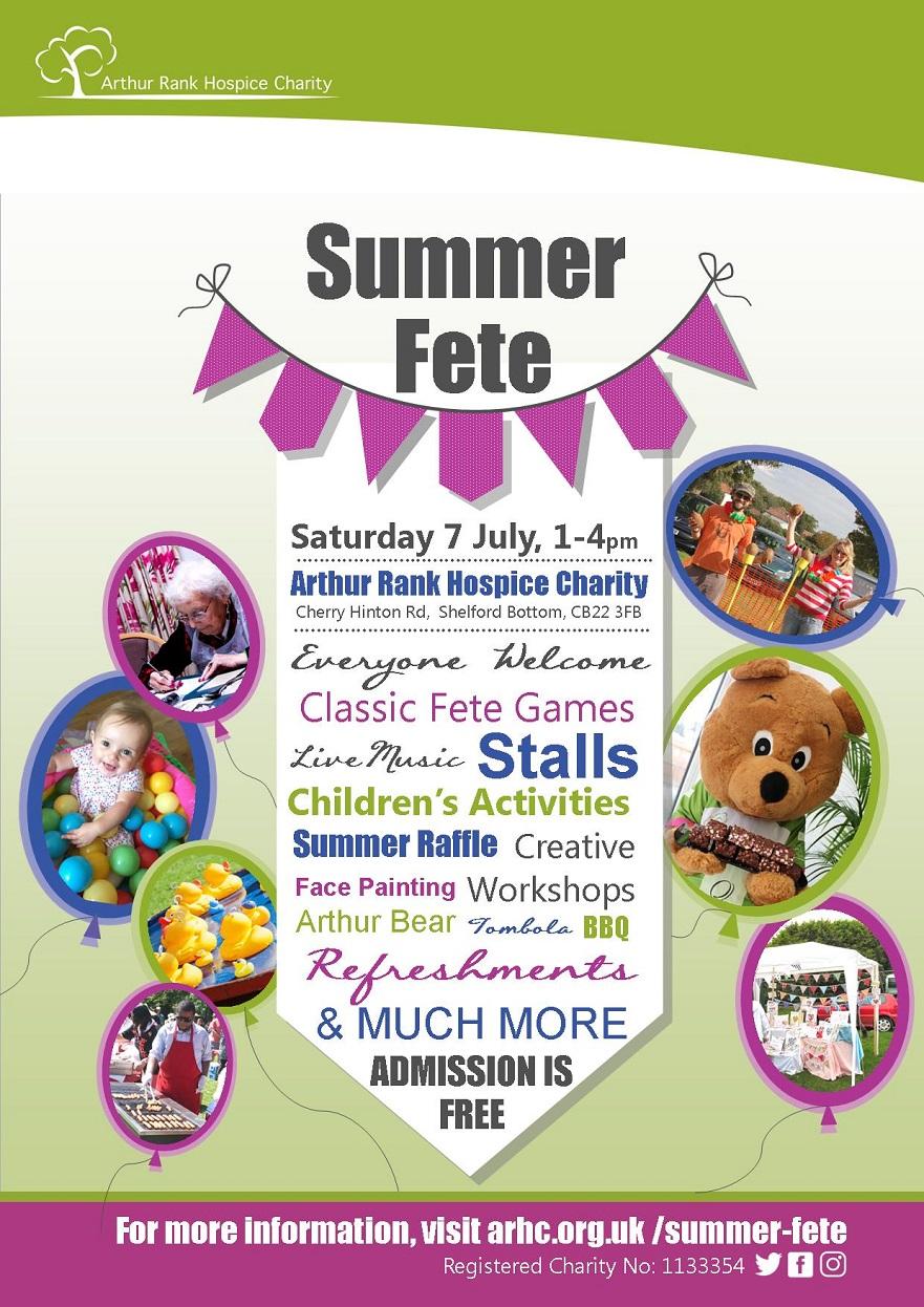 Arthur Rank Hospice Charity Summer Fete