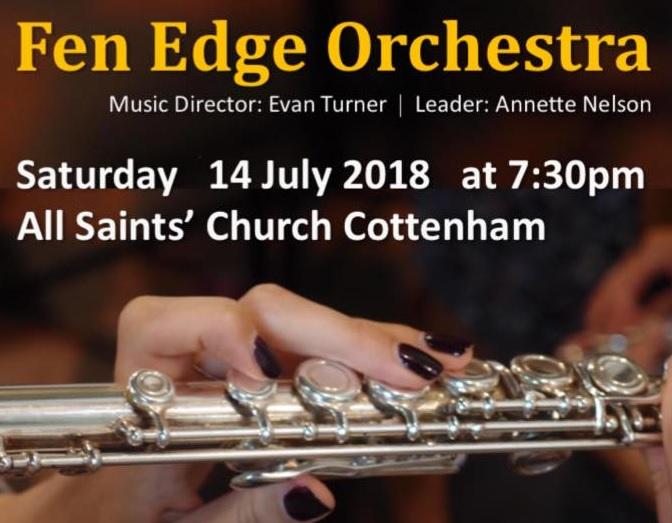 Fen Edge Orchestra Summer Concert