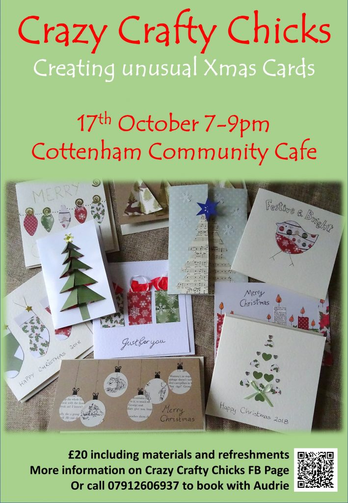 Creating unusual Xmas cards - CCC - 17th Oct 2018