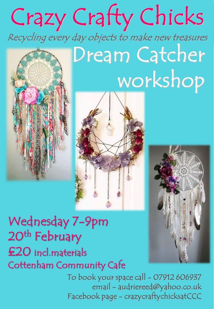 Crazy Crafty Chicks Dream Catchers Workshop